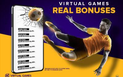 VIRTUAL GAMES – REAL BONUS